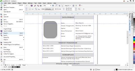 desain layout majalah dengan coreldraw membuat layout koran dengan coreldraw membuat curriculum