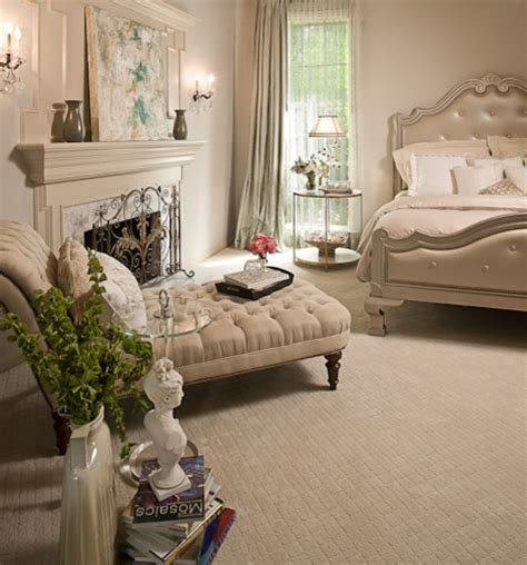 quiet sophisticated master bedroom transitional