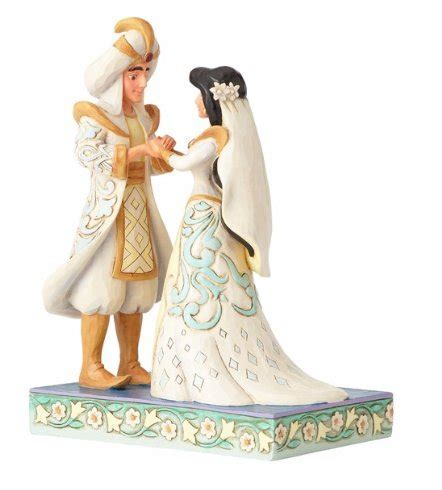 Wedding Day Aladdin & Jasmine Figurine: Disney Gifts
