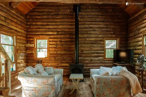 New York State Cabin Rentals On Lake by Lakefront Log Cabin Rental In Adirondack Park