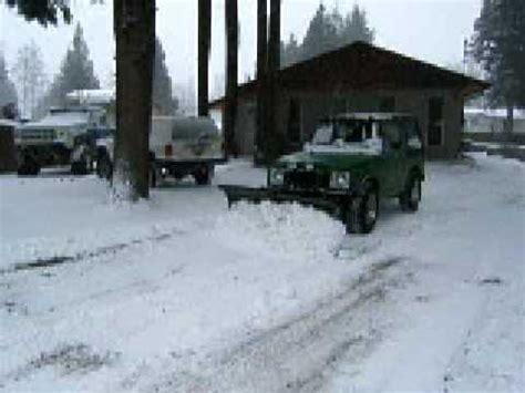 Snow Plow For Suzuki Samurai Suzuki Sj410 Snow Plow