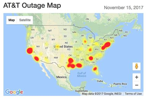 att outage map at t outage here s what you need to do android