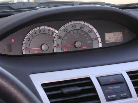 How To Reset Maintenance Light On 2007 Toyota Camry How To Reset The Maintenance Light On A Toyota Yaris