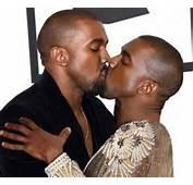Kanye West Kissing Himself