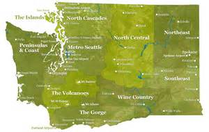 Map Of Washington State Cities And Towns by State Of Washington Map