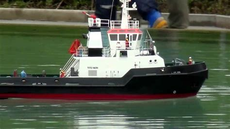 rc tug boat tito neri tug boat rc model youtube