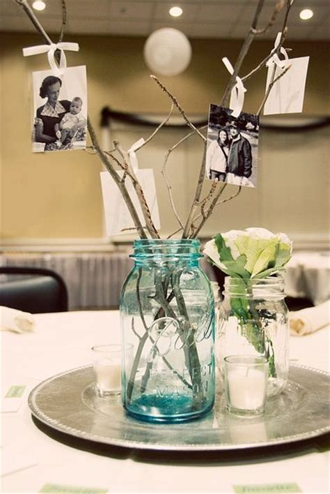 centerpieces with photos 25 best ideas about picture centerpieces on
