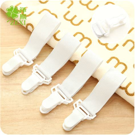 bed sheet grippers 4pcs bed sheet fixed grippers clip holder fasteners set