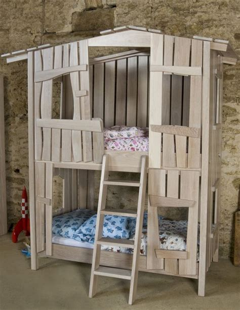 The Tree House Bunk Bed Girly Rooms Pinterest Trees Tree House Bunk Bed Plans