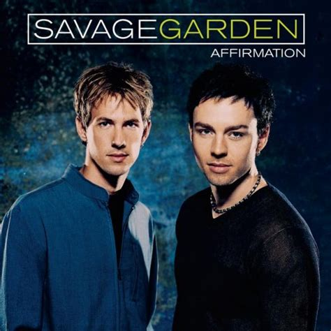 affirmation 1999 savage garden albums lyricspond