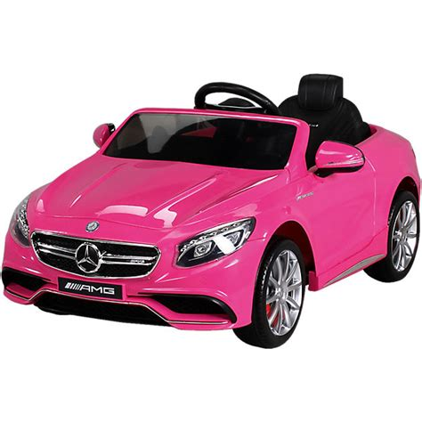 Kinder Auto Pink by Kinder Elektroauto Mercedes S63 Amg Lizenziert Pink Mytoys