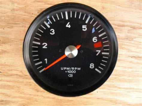 Porsche 911 Tachometer by For Sale 1972 Porsche 911 Tachometer Pelican Parts
