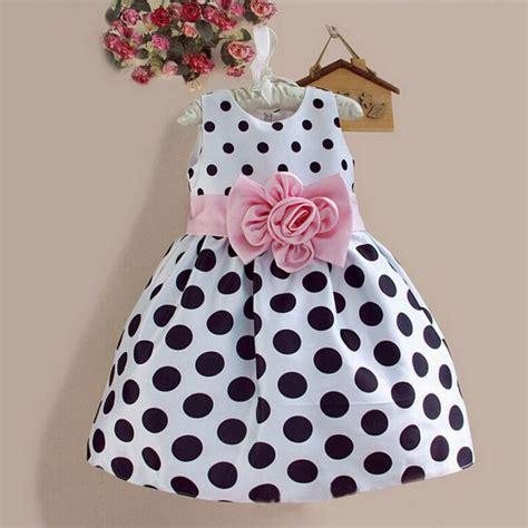 Dress Kid Ursula Polka summer child dresses kid toddler princess dress