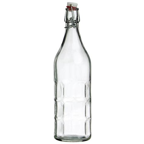 Bormioli Rocco Moresca Swing Top Glass Bottle 1l Moore