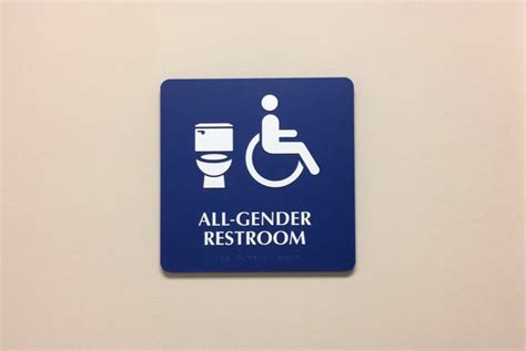 All Gender Bathroom by Meriam Library Welcomes All Gender Restrooms The