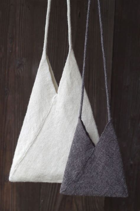 Totebag Triangel a cool triangle tote bag