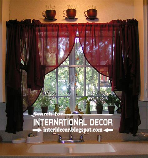 kitchen drapery ideas largest catalog of kitchen curtains designs ideas 2015