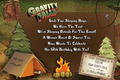 gravity falls  bday party lauras  party