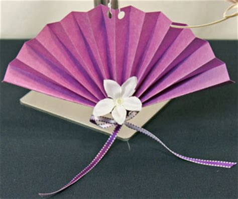 construction paper fan ornament funezcrafts funblog
