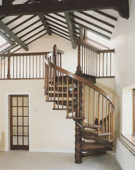 Just Two Fabulous Staircases by Wooden Spiral Staircases Spirals Castings