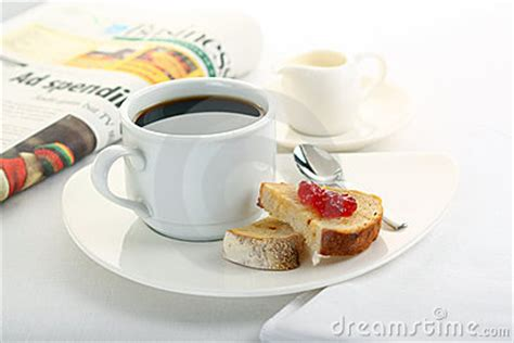 toast coffee house coffee and toast stock images image 15409204