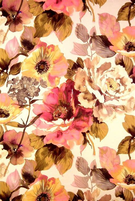 girly autumn wallpaper soft floral jardin fabric art soul fabric collection