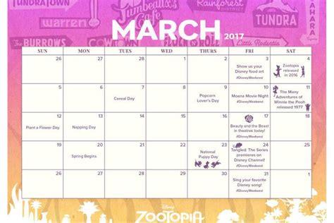disney coloring pages calendar printable disney march 2017 printable calendar skgaleana