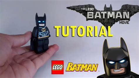 tutorial lego batman tutorial batman lego en porcelana fr 237 a ojos led batman