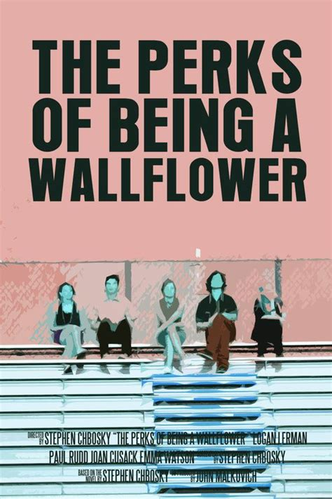 the perks of being a wallflower series 1 the perks of being a wallflower poster
