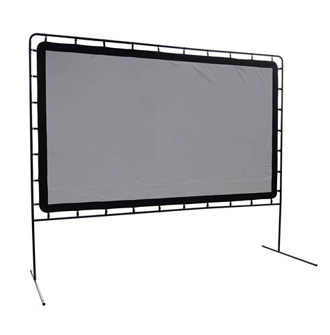 backyard projector screen large 12 foot outdoor projector screen jumbo backyard