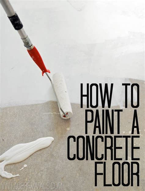 how to paint floors how to paint concrete updated plus my secret cleaning