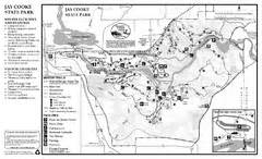 Jay Cooke State Park Map by Pattison State Park Map Pattison State Park Wi Usa Mappery