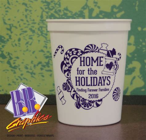 home for the holidays cup bb graphics the wrap pros