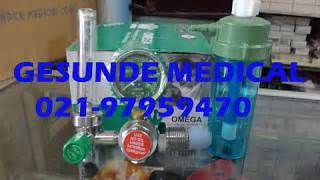 Kursi Roda Omega regulator o2 omega oxygen regulator toko medis jual