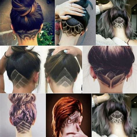 undercut pattern girl pics for gt undercut patterns for girls