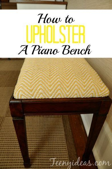 how to reupholster a bench 63 best images about sunroom furniture color on