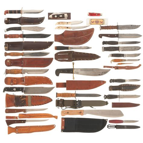 knife blade styles grouping of knives