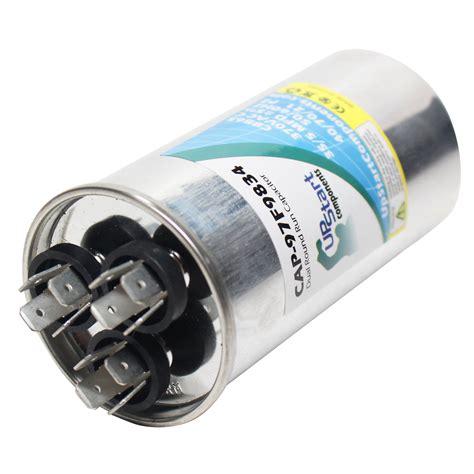 capacitor no continuity 35 5 mfd 370 volt dual run capacitor upstart components