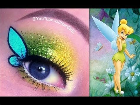 makeup tutorial tinkerbell disney s tinkerbell makeup tutorial youtube