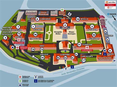 pabellon iturrizar basurto plano del hospital de basurto hospital universitario