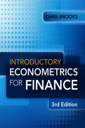 introductory econometrics books introductory econometrics for finance ebook and hacks