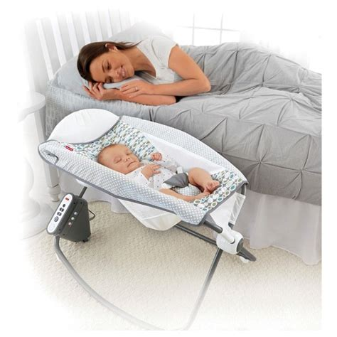 Rock And Sleep Sleeper by Fisher Price Auto Rock N Play Sleeper Aqua Target