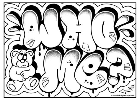 graffiti letters and characters coloring book a collection of graffiti drawings and coloring pages for and adults books omg another graffiti coloring book of room signs learn