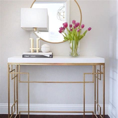 entry way table decor best 25 entryway console table ideas on