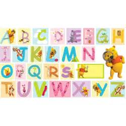 winnie the pooh xxl giant alphabet wall stickers new ebay