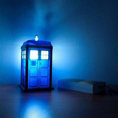 Doctor Who Lights Doctor Who Tardis Night Light Gadgetsin
