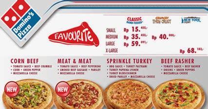 domino pizza harga daftar harga domino pizza 2018 terbaru daftar harga