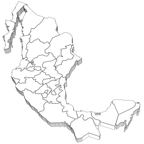 coloring page mexico map mexico map coloring page coloring home