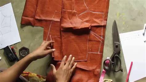 pattern cutting youtube plain blouse drafting pattern cutting stitching part 4 of