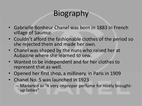 coco chanel biography timeline coco chanel leadership skills
